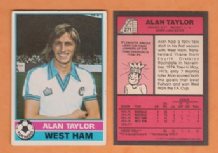 West Ham United Alan Taylor